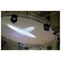 3m Circle Cloth White